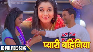 Dinesh Lal Yadav 'Nirahua' - New Movie Song 2017 - प्यारी बहिनिया - Bhojpuri Movie JIGAR