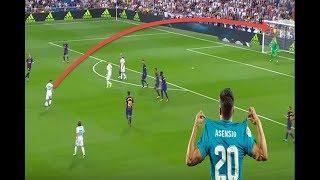 السر وراء جنون الاندية علي ماركو اسينسيو جوهرة ريال مدريد  HD 2017