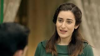 مسلسل ليالي أوجيني - دكتور فريد يعتذر لكريمة على ما قالته زوجته عايدة لها