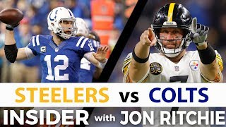 Pittsburgh Steelers vs Indianapolis Colts NFL Insider with Jon Ritchie