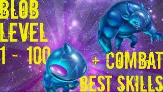 Monster Legends - Blob - Level 1 to 100