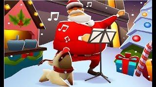 Subway Surfers Winter Holiday VS Prague iPad Gameplay for Children HD #398