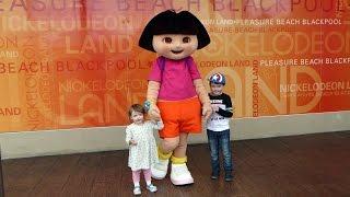 Dora the Explorer Meet and Greet at Nickelodeon Land Blackpool Pleasure Beach