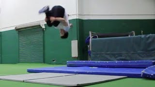 Blocking to Increase Jump Height/ Flip Height - Tricking Parkour