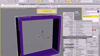 How to create 3d window  in 3d max
