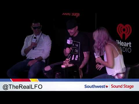 LIVE: LFO in our #iHeartSouthwest Sound Stage