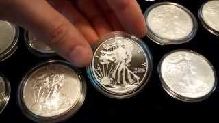 Complete American Silver Eagle Set (1986-2015) Coin Collection