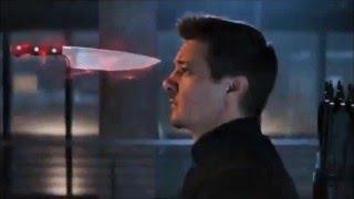 Captain America: Civil War - Movie Clip #8 - Hawkeye Saves Wanda