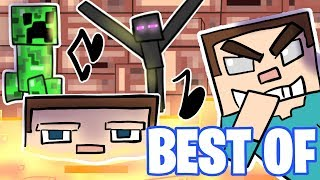 *BEST* Minecraft Animation Compilation | ♫ArcadeCloud Parodies♫