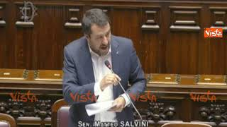 """Salvini interrotto al Question Time: """"Va bene che parlino"""", Rampelli: """"Solo quando è il loro turno"""""""