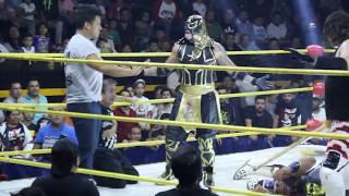 La Máscara llega de sorpresa a la Arena Naucalpan y ataca a L.A Park