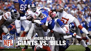Giants vs. Bills | Week 4 Highlights | NFL