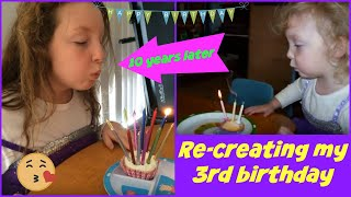 Indahly's 3rd Birthday Re-Creation! HAPPY 13th!!