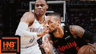 Oklahoma City Thunder vs Portland Trail Blazers - Game 4 - Full Game Highlights | 2019 NBA Playoffs