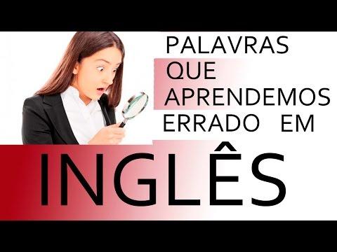 watch Aula de Inglês - Palavras Que Aprendemos Errado em Inglês pt2