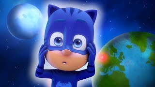 PJ Masks Full Episodes | PJ Masks Villains Steal the Moon! ⭐️Super Moon Series ⭐️Cartoons for Kids