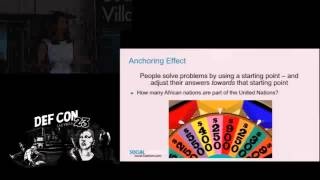 DEF CON 23 - Social Engineering Village - Michele Fincher - I Didn't Think it was Loaded