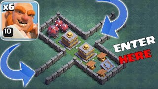 ENTER IF YOU DARE!! |Clash Of Clans | 2 MAX DOUBLE CRUSHERS!!