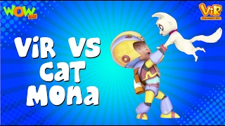 Vir vs Cat Mona - Vir : The Robot Boy WITH ENGLISH, SPANISH & FRENCH SUBTITLES