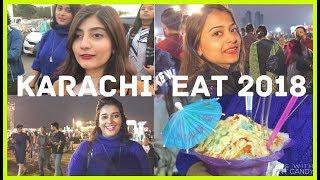 KARACHI GIRLS AT KARACHI EAT FESTIVAL 2018   Anushae Says