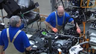 Volkswagen Golf Variant Production Line
