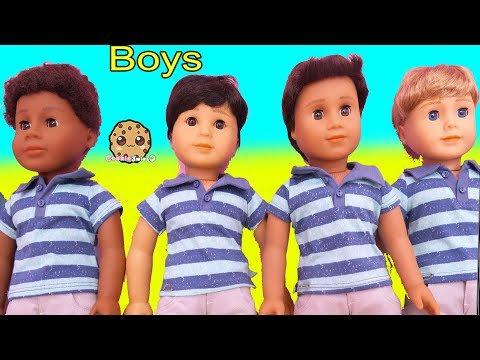 American Girl BOY DOLL Haul - Cookie Swirl C Toy Video