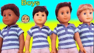 American Girl BOY DOLL Haul - Cookie Swirl C Toy Video