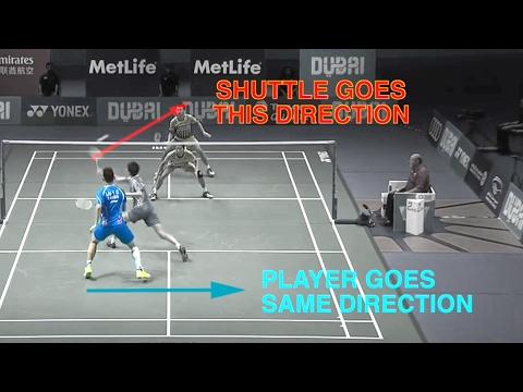 CROSS BACK - Badminton DOUBLES Technique - Goh V Shem /Tan Wee Kiong