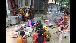 Village Food | 30 Village children are doing picnic | Grandmother recipes-112