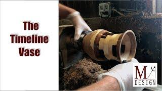 The Timeline Vase // Segmented Turning