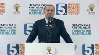 """Erdoğan: """"Afrin'i Gerçek Sahiplerine Teslim Edeceğiz"""""""