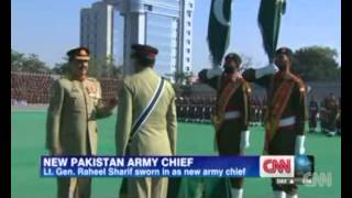 Pakistan army gets new chief General Raheel Sharif