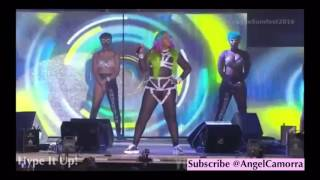 SPICE AT REGGAE SUMFEST 2016 - Who's Worldboss Of Dancehall? & Don Andre Diss