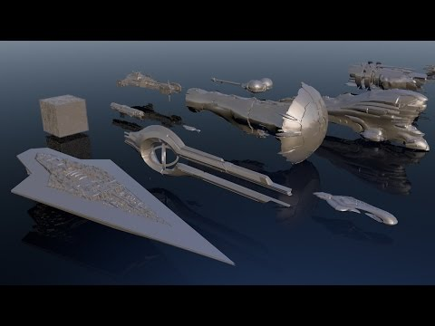 watch Starships size comparison