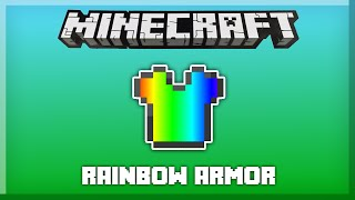 RAINBOW ARMOR in only one command! [Minecraft 1.11]