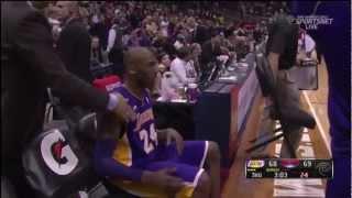 Kobe Bryant Brings ATL Crowd Into a Frenzy (March 13, 2013)