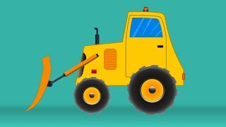 Kids TV Channel | Bulldozer | vehicle assembly for kids | cartoon videos for kids