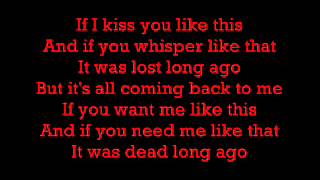 Celine Dion   Its All Coming Back To Me Now Lyrics