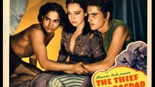 El Ladrón de Bagdad (1940) -Película Completa-Castellano Latino (HD)