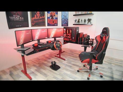 my Ultimate Gaming Setup 2016 Setup Tour