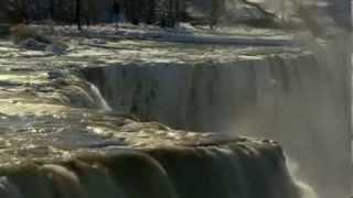 01/10/2014 Incredibly! Freezes Niagara Falls! NEW Real Video