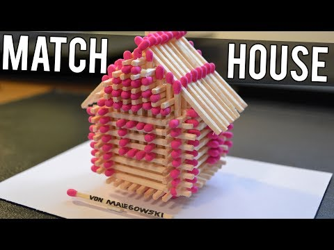 How to Make a Match House 🏠