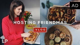 HOSTING A FRIENDMAS DINNER | Lily Pebbles
