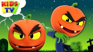 Scary Pumpkin Song   Halloween Nursery Rhymes For Kids   Cartoons by The Supremes   Kids Tv
