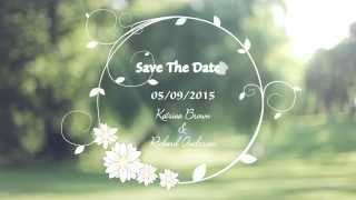 Custom Wedding Invitation Video - Save The Date