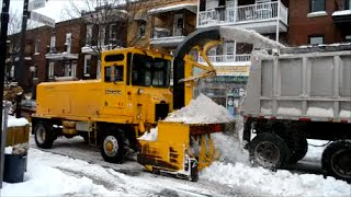 MONTREAL SNOW REMOVAL OP. JAN. 2 ND 2016