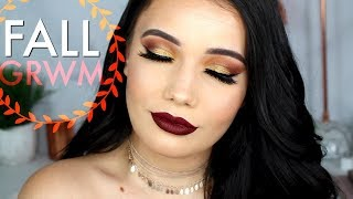 Get Ready With Me | Fall Makeup