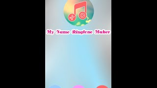 My Name Ringtone Android App Trailer
