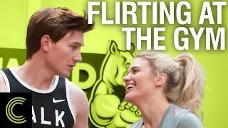 Flirting at the Gym