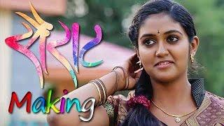 Sairat Making of Marathi Movie | Rinku Rajguru & Akash Thosar | Rinku Rajguru Shares On Location Exp